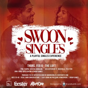 Swoon Singles February Nashville (SWN)